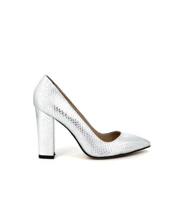 Pantofi de dama Anna Viotti argintii