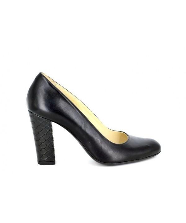 Pantofi de dama guban din piele naturala