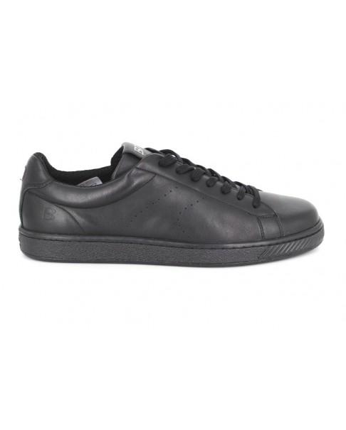 Pantofi sport Bit- Bontimes MONDO negri din piele naturala de vitel