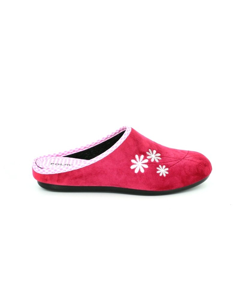 Papuci de casa de dama rosii