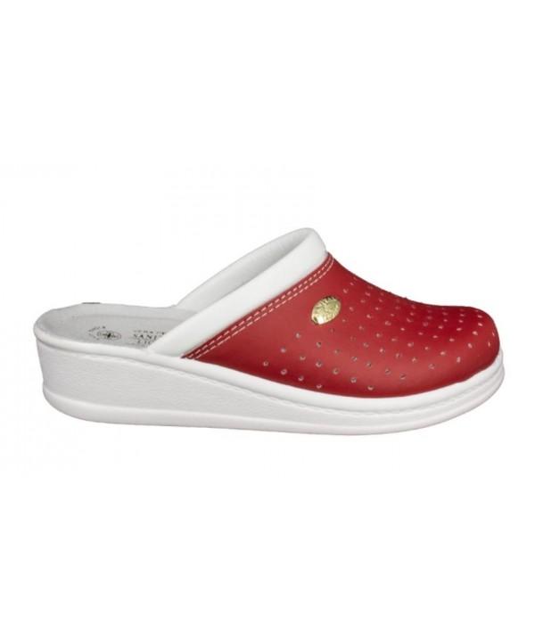 Papuci medicinali rosii Sanital Light
