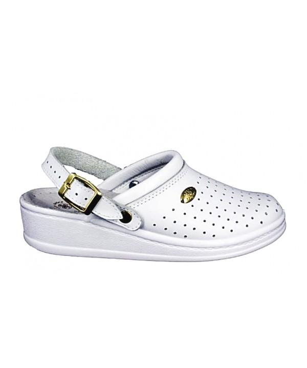 Papuci medicinali Sanital Light albi