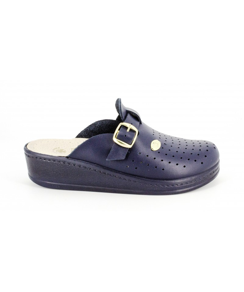 Papuci medicinali blu Sanital Light