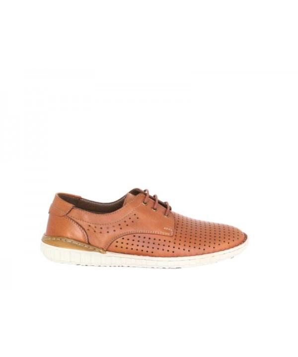 Pantofi casual DR JELL'S Maro din piele naturala