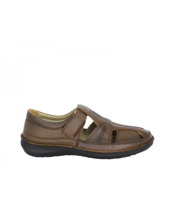 Sandale barbati DR JELL'S Maro din piele naturala B9991