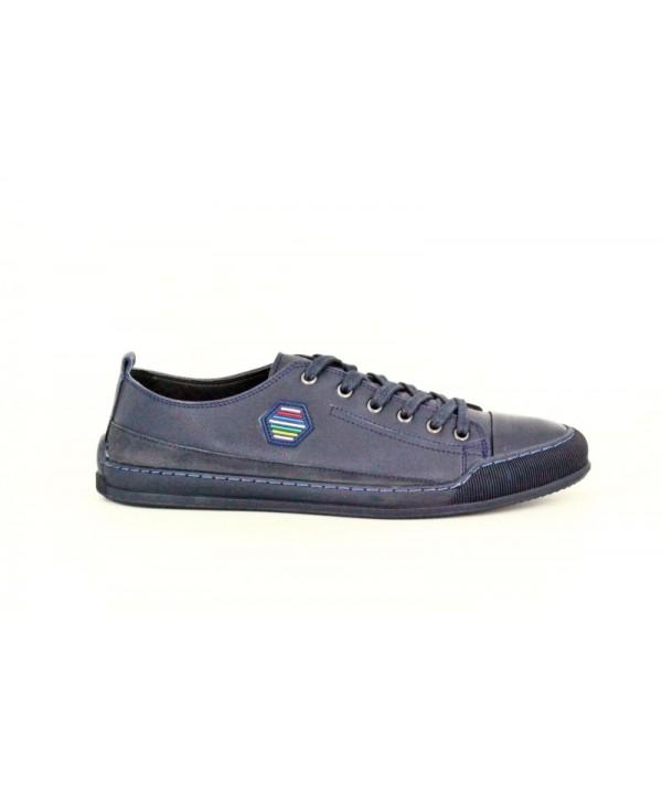 Pantofi sport GORETTI Albastru din piele naturala