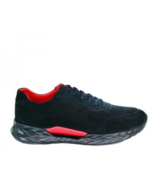 Pantofi sport GORETTI Negru din piele naturala