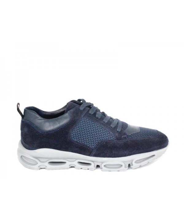 Pantofi sport GORETTI Albastru din piele naturala B9589