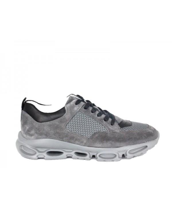 Pantofi sport GORETTI Gri din piele naturala B9589