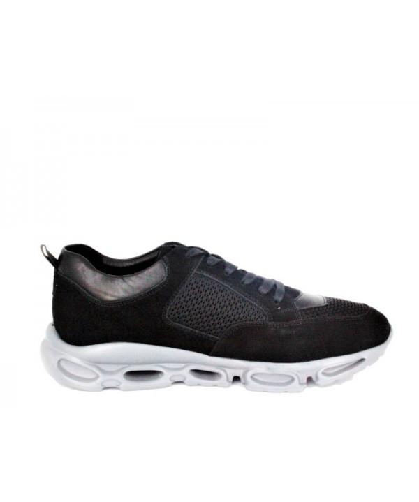 Pantofi sport GORETTI Negru din piele naturala B9589