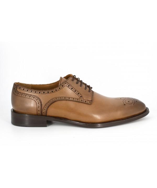 Pantofi barbati Goretti din piele naturala