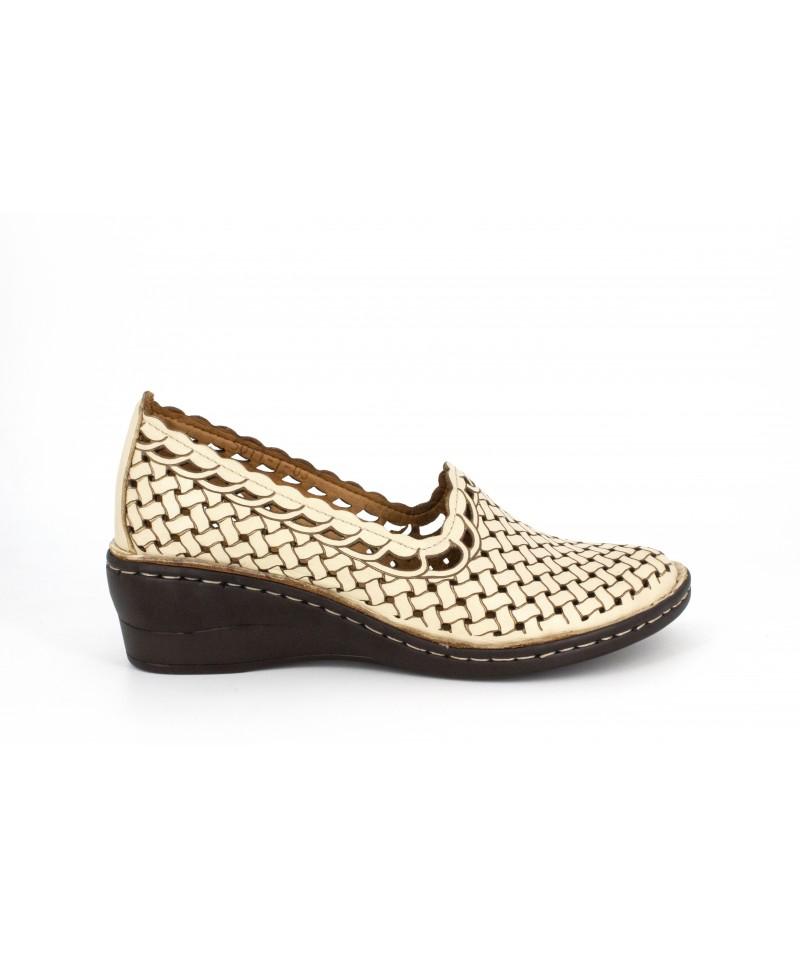 Pantofi dama Anna Viotti d5011-1bej