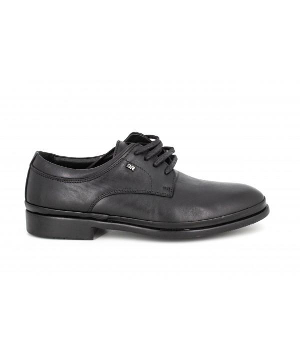 Pantofi barbati Goretti din piele naturala b6291black