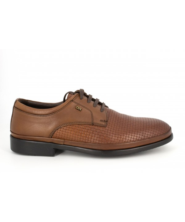 Pantofi barbati Goretti din piele naturala b6291 taba wiker