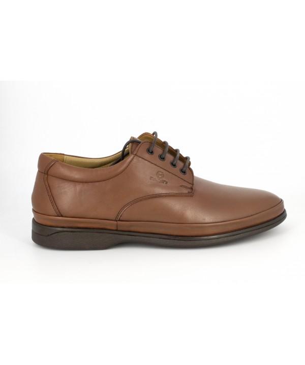 Pantofi barbati Goretti din piele naturala b8262 l brown