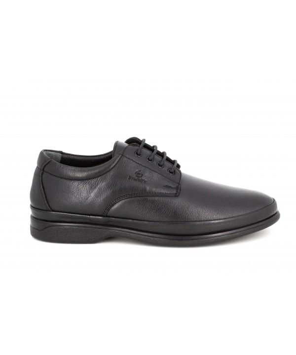 Pantofi barbati Goretti din piele naturala b8262 black