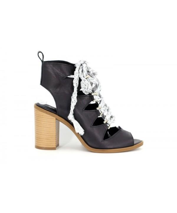 Sandale dama d1802negru