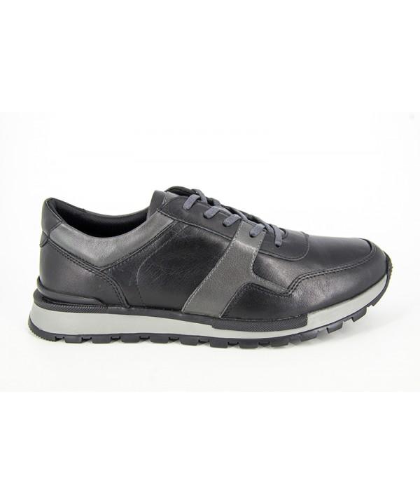 Pantofi  sport  GORETTI Negri din piele naturala B1254