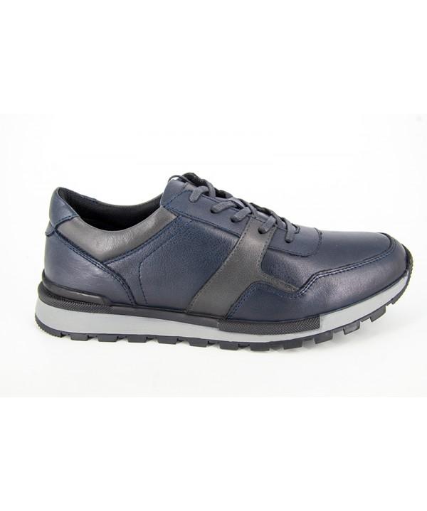 Pantofi sport GORETTI Albastru din piele naturala B17-1254