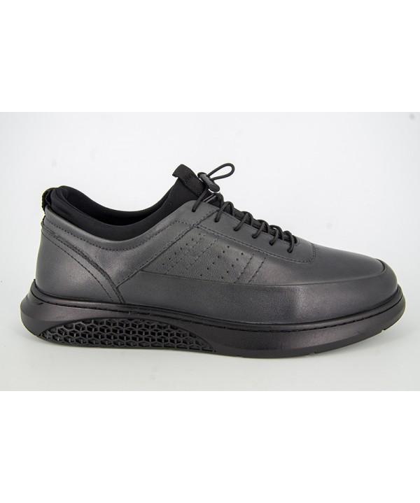 Pantofi sport GORETTI Gri din piele naturala B17-550