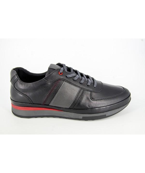 Pantofi sport GORETTI Negru din piele naturala B17-1311