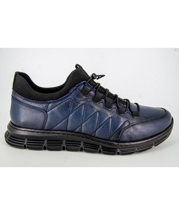 Pantofi sport GORETTI Albastru din piele naturala B24-2018