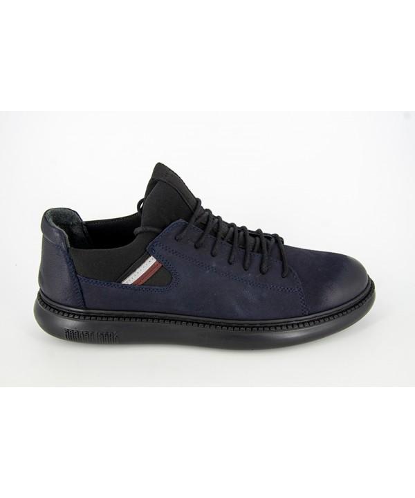 Pantofi sport GORETTI Albastru din piele naturala B24-2005
