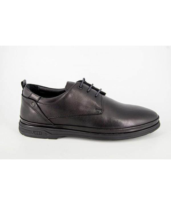Pantofi casual DR JELL'S Negru din piele naturala