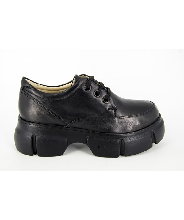 Pantofi dama ANNA VIOTTI Negru Box din piele naturala D1194