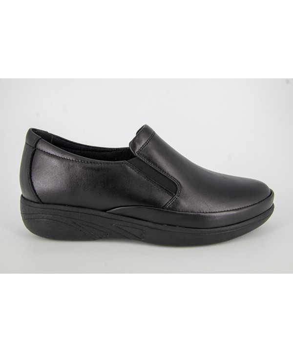 Pantofi dama ANNA VIOTTI Negru din piele naturala D1239