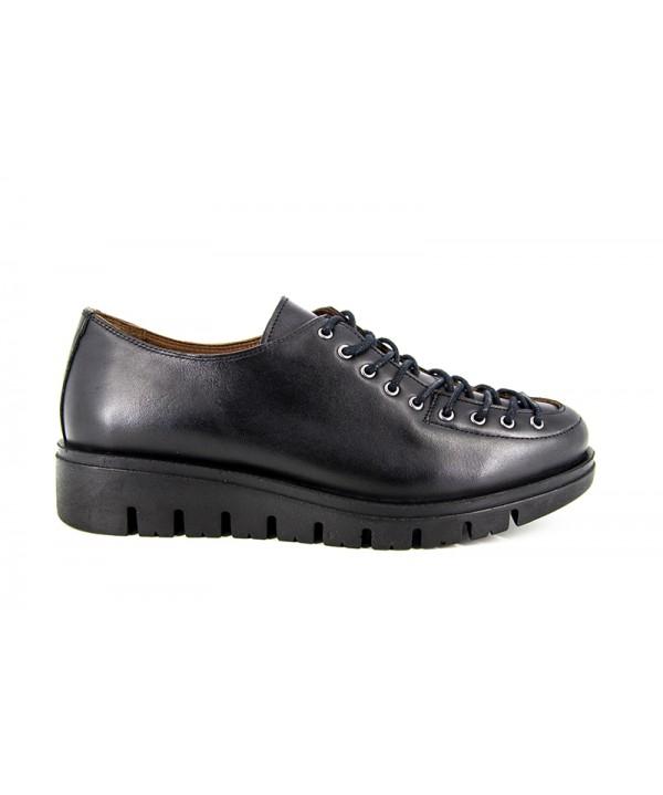 Pantofi dama ANNA VIOTTI Negru din piele naturala D1401