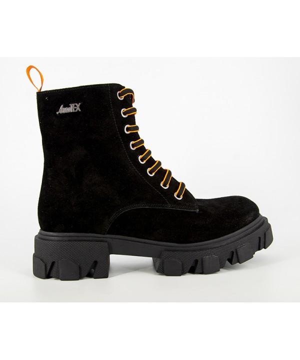 Pantofi  dama ANNA VIOTTI Negru din piele naturala D7702