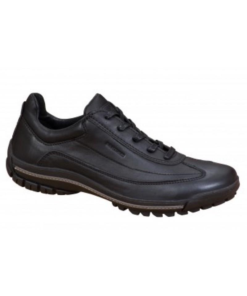 Pantofi casual barbati Bit - Bontimes Ford  negru  din piele naturala
