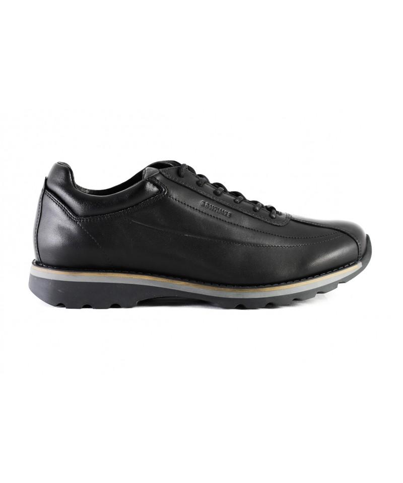 Pantof sport Bontimes Welt  negru din piele naturala de vitel