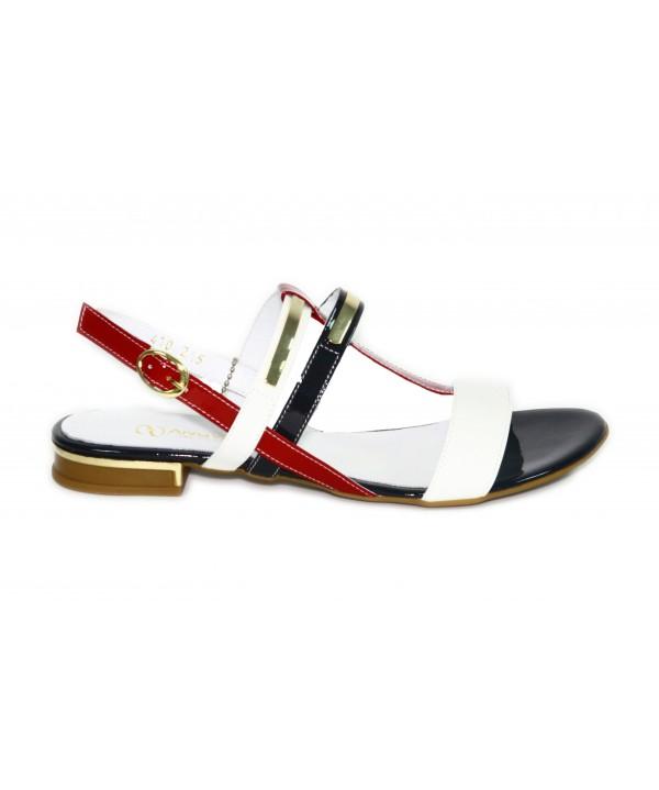 Sandale casual dama Anna Viotti din lac-STOC O